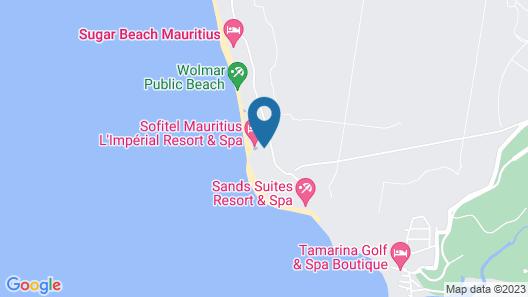 Sofitel Mauritius L'Imperial Resort & Spa Map