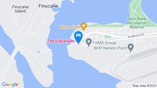 The Esplanade Hotel Port Hedland Map