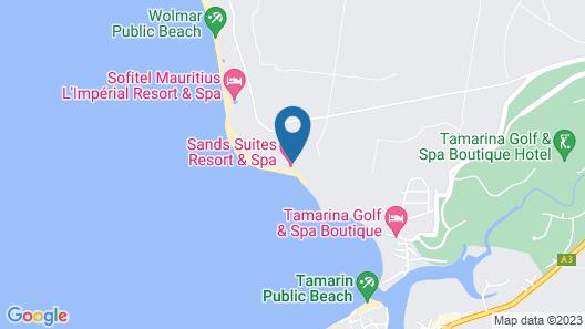 Sands Suites Resort & Spa Map