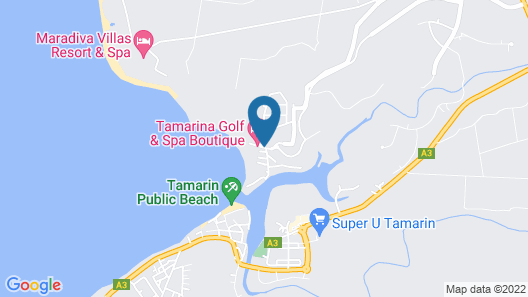 Tamarina Golf & Spa Boutique Hotel Map