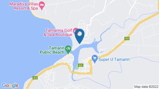 Veranda Tamarin Hotel and Spa Map