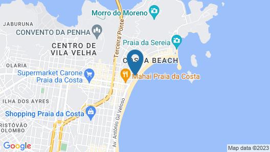 Quality Suites Vila Velha Map