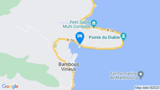 La Case du Pecheur Map