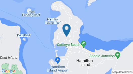Vue Luxury House Ocean Views Pool With Two Buggies Map