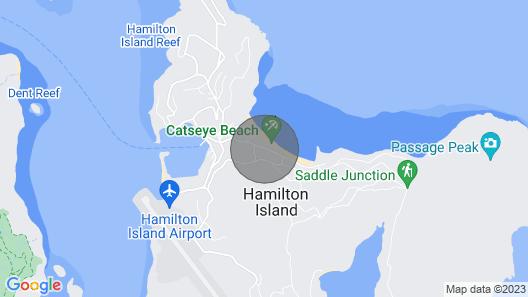 "BEACHFRONT Frangipani 206 ""NEW LOOK""<br> Map"