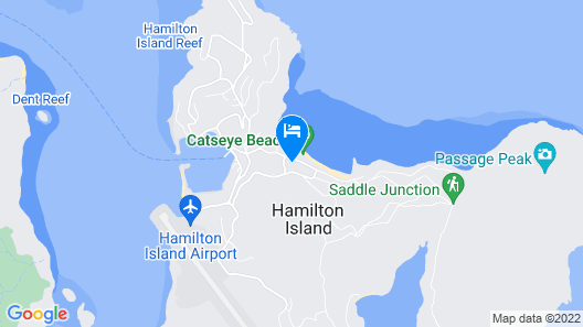Reef View Hotel Map