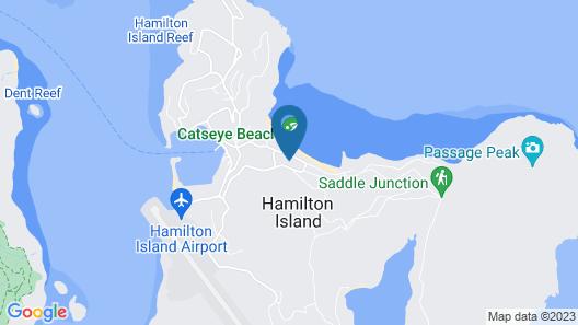 Beach Lodges Map