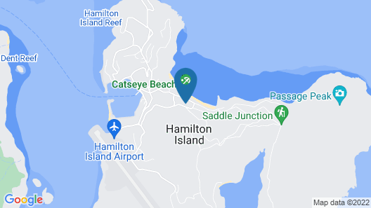 Hamilton Island Vacation Rentals Map