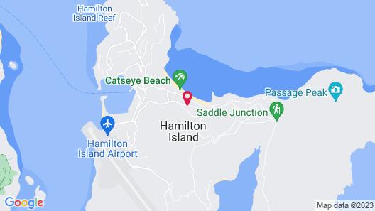 Whitsunday Apartments Map