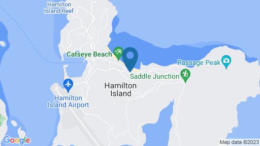 Lagoon 202 on Hamilton Island Map