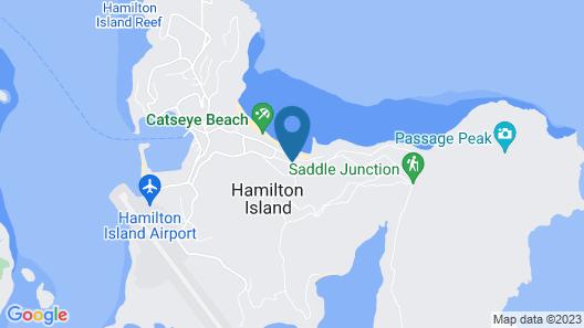 Beach Front Lagoon Lodge Apartments Map