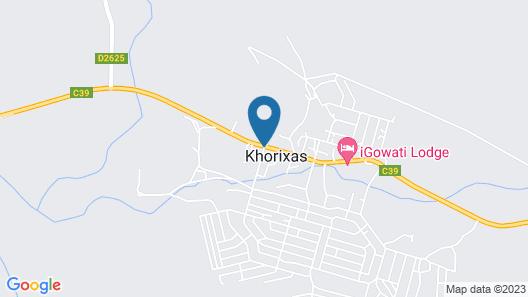 Damara Mopane Lodge Map