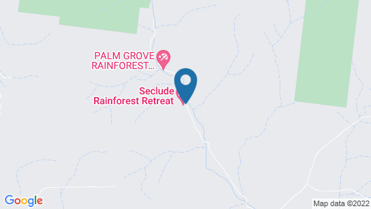 Seclude Rainforest Retreat Map