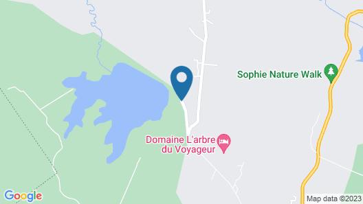 Le Domaine de L'arbre du Voyageur Map