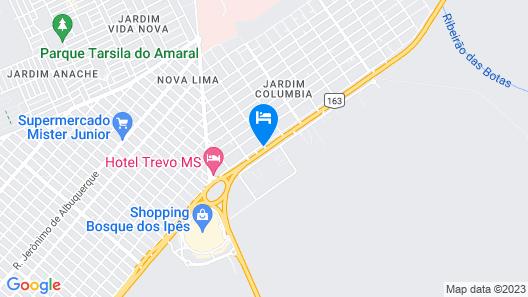Nosso Hotel Map