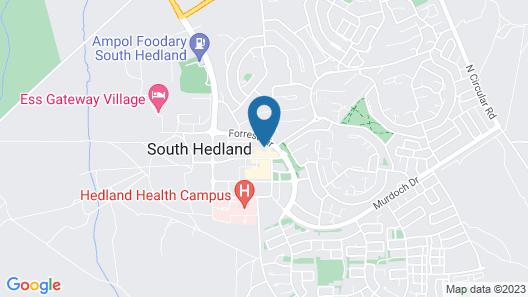 South Hedland Motel Map