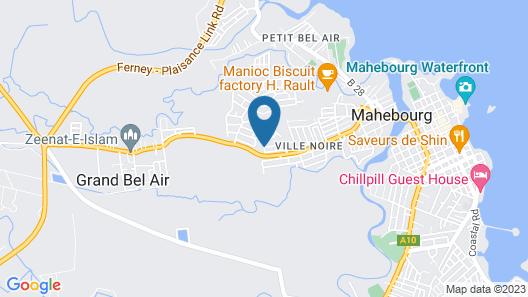 La Belle Maison De Bel Air Map
