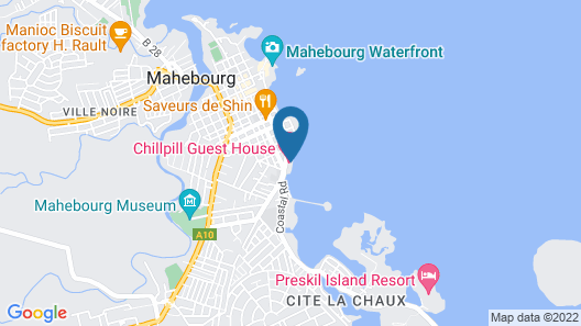CHILLpill Guest House Map
