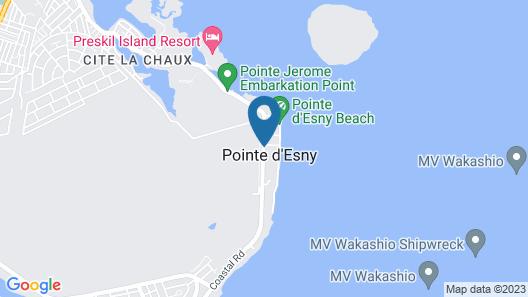 Paradise Beach by Horizon Holidays Map