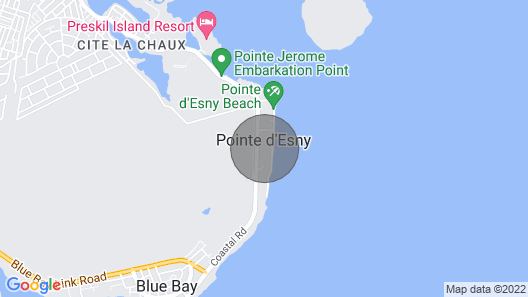 Villa Eastern Wind on the Beach Map
