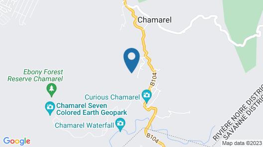 Les Jardins de Chamarel lodge Map