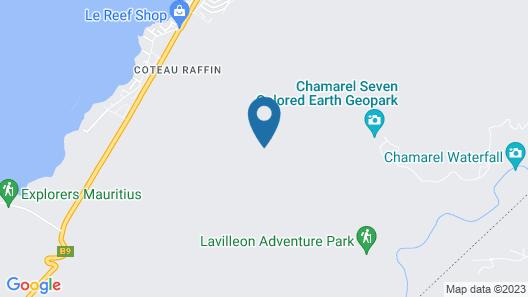 Chalets Chamarel Map