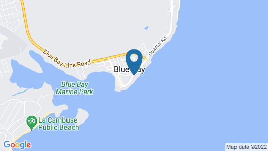 Veloutier Blanc Beachfront Villa by StayMauritius Map
