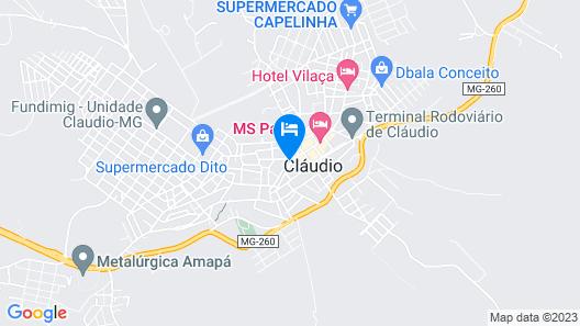 Hotel 3 Irmãos Map