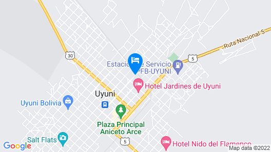 Hotel Aguilar Map