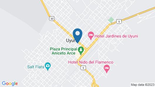 Hotel Jerian  Map
