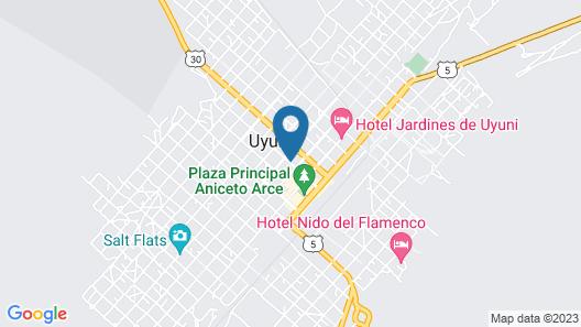 BELIZ IN B&B Map