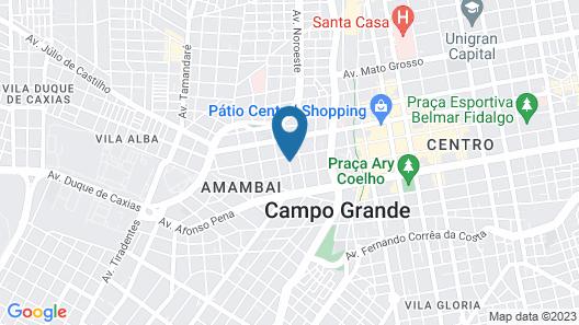 Hotel Internacional Map
