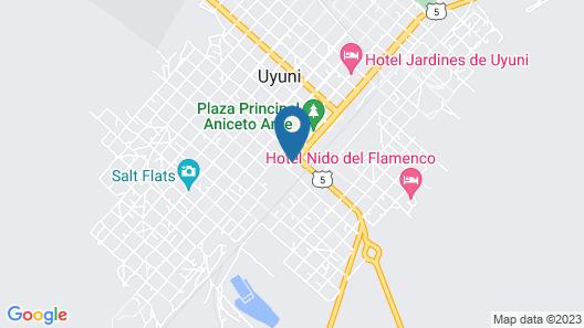 Tonito Hotel Map