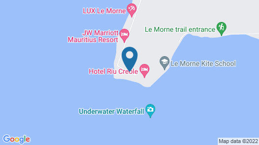 Riu Le Morne - All Inclusive - Adults only Map