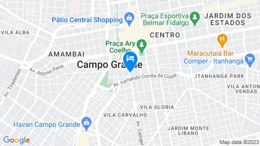 Hotel Concord Map