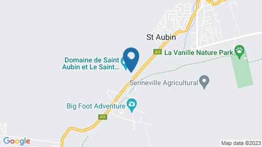 L'Auberge du Domaine de Saint Aubin Map