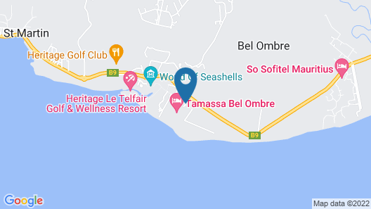 Tamassa Resort - All Inclusive Map