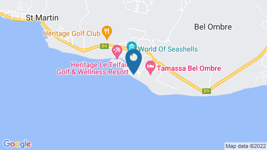 Heritage Awali Golf & Spa Resort – All Inclusive Map