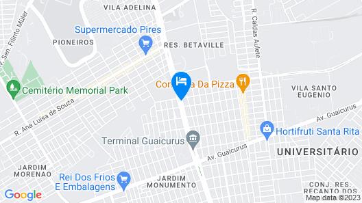 Hotel Paris Map