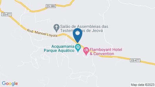AcquaMarine Park Hotel Map