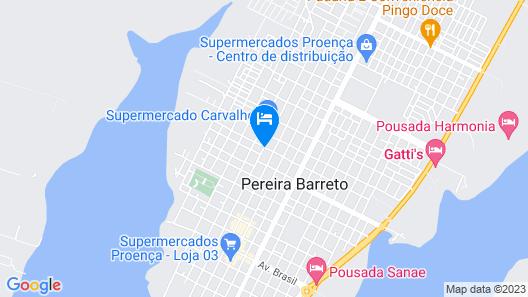 Hotel Brasil Map