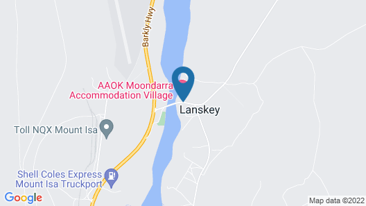 Aaok Moondarra Accommodation Village Map