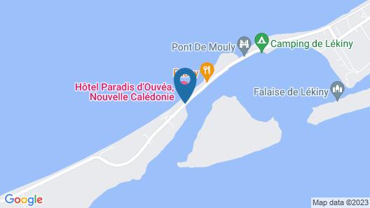 Paradis d' Ouvea Map