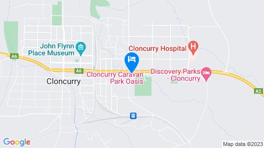 Gidgee Inn Motel Map