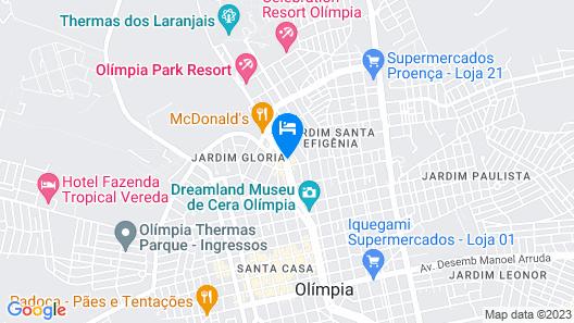 Agua Viva Hotel Map