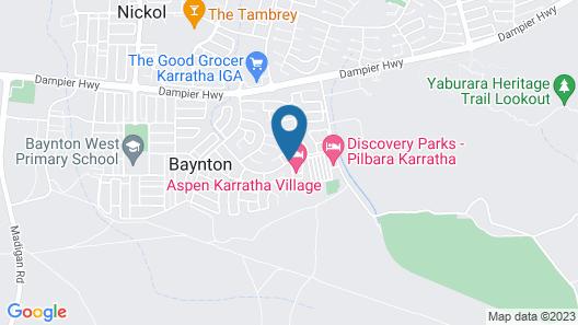 Aspen Karratha Village - Aspen Workforce Parks Map