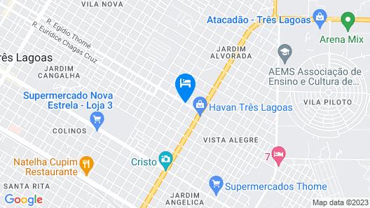 SempreHotel Map