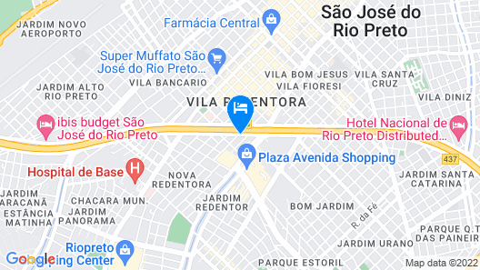 ibis Sao Jose do Rio Preto Map