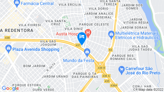 Hotel Nacional Distributed by Intercity Map