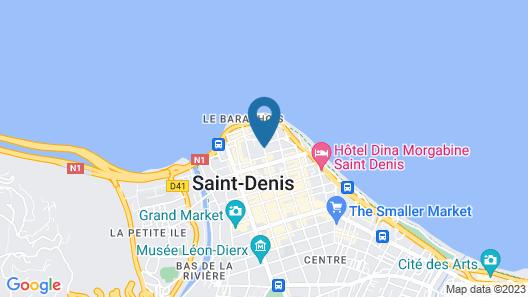Hotel le Juliette Dodu Map